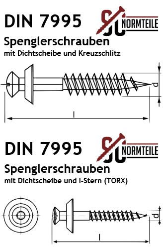 TX 4,5x120 mm DIN7995 Edelstahl A2 V2A - 200 St/ück Spenglerschrauben mit EPDM Dichtscheibe TORX Innensechsrund 20 mm SC-Normteile